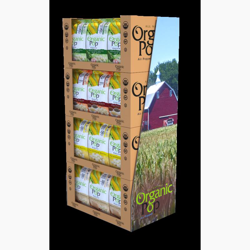 ProCorr Display and Packaging Portfolio Organic Pop Case Stacker