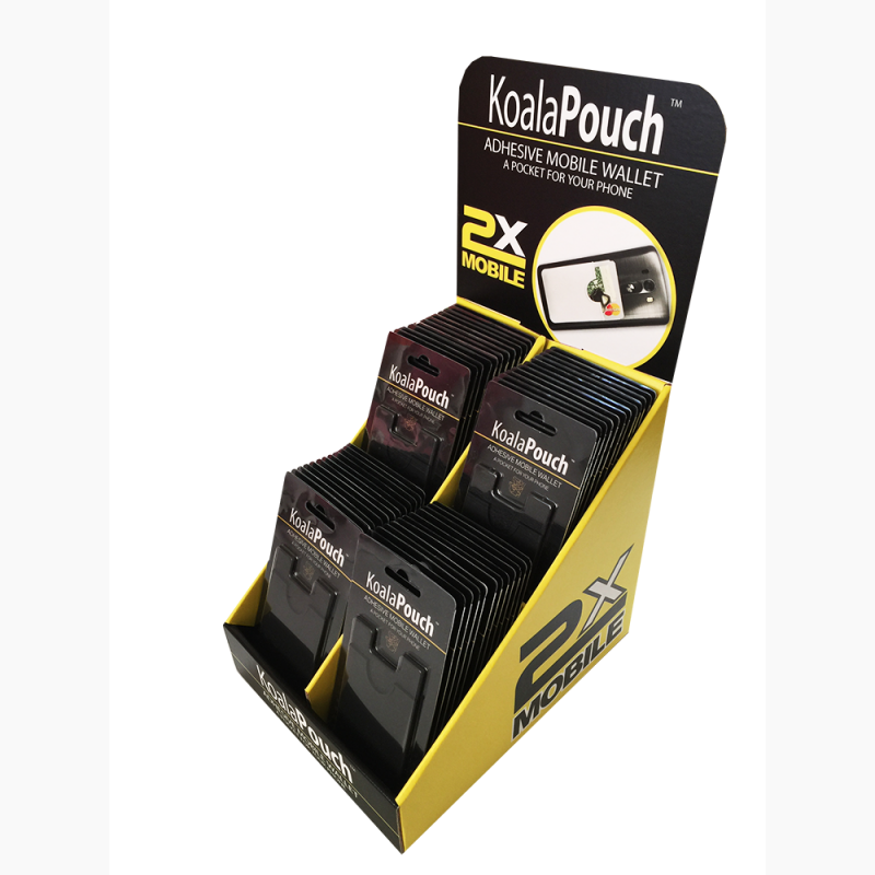ProCorr Display and Packaging Portfolio Koala Pouch Counter Display