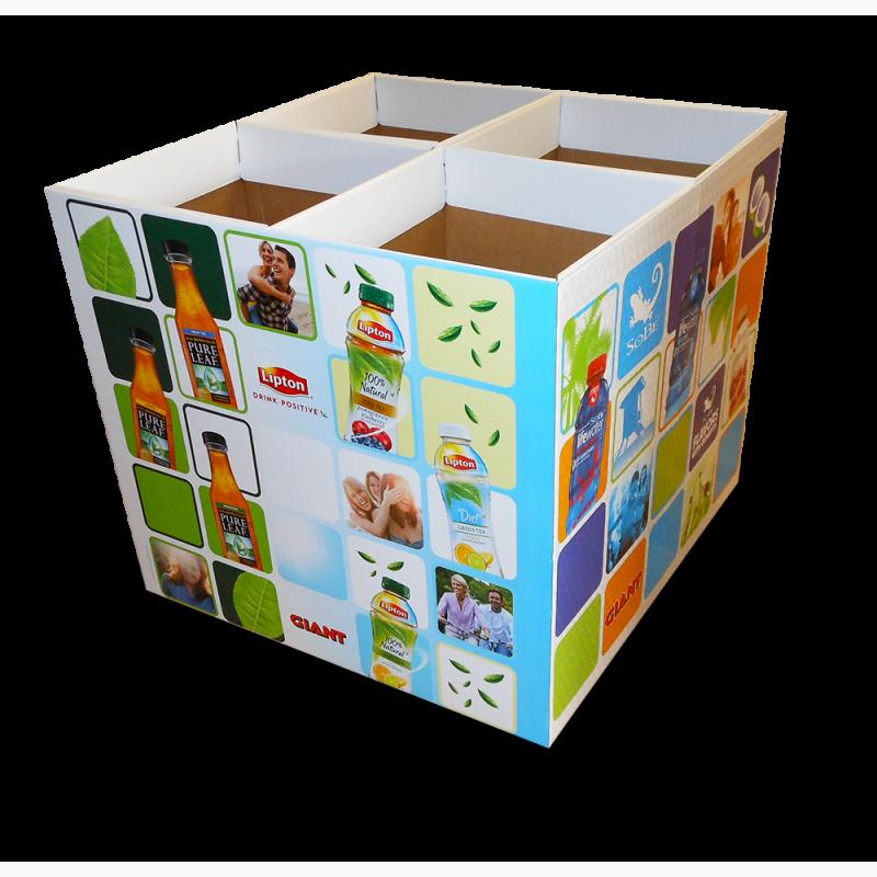 ProCorr Display and Packaging Portfolio Lipton Giant Pure Leaf Iced Tea Floor Display
